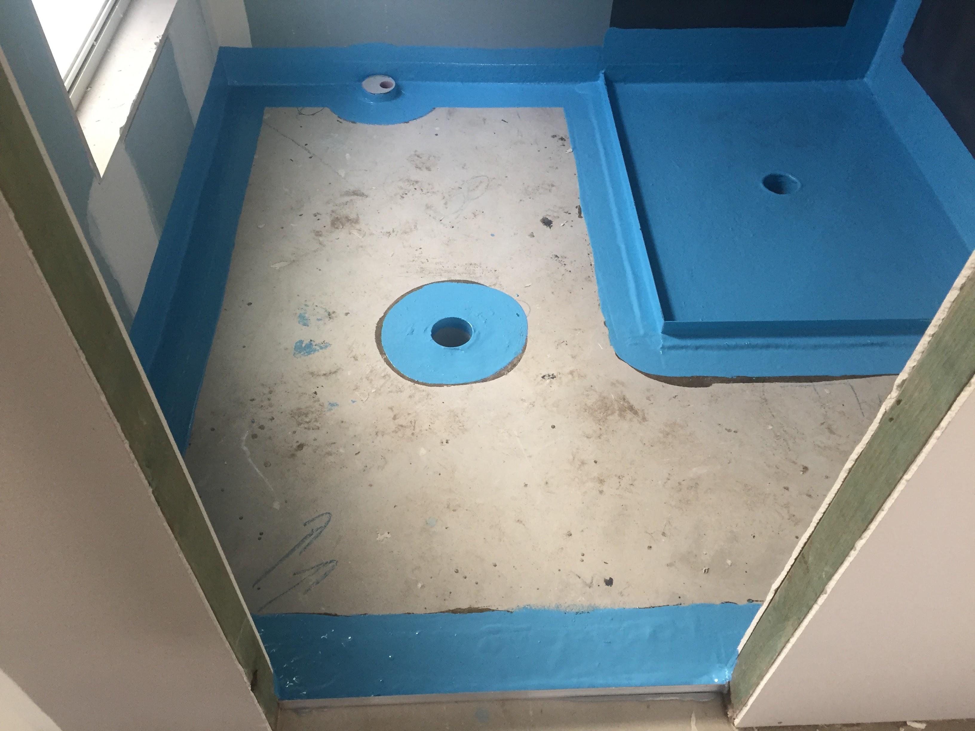 Bathroom Fibreglass Waterproofing - Ideal Waterproofing